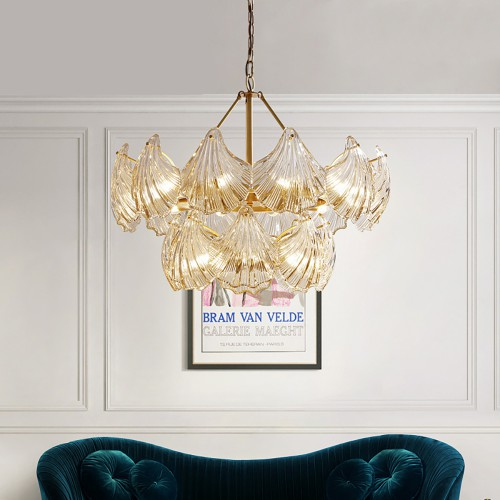 Дизайнерская люстра Luxury Modern Glass Chandelier