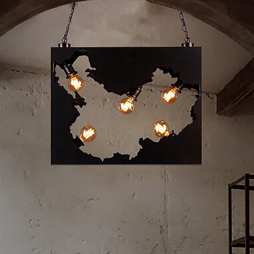 Светильник LOFT Map Chandelier
