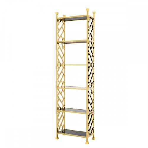 Стеллаж Cabinet Skyler Gold Finish 110068