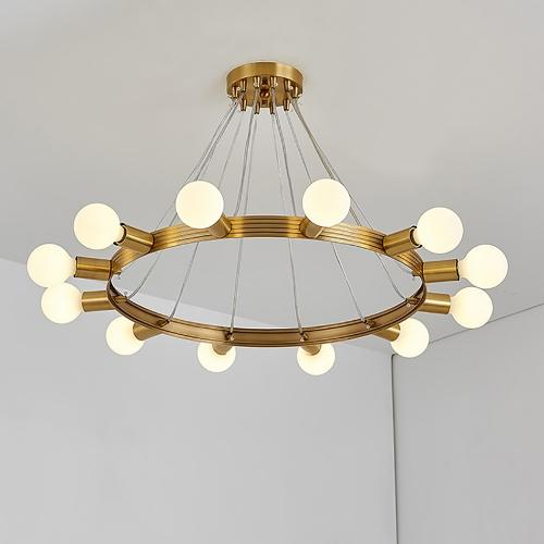 Дизайнерский светильник Mega Edison Brass