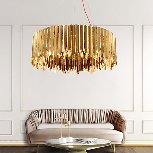 Дизайнерский светильник Metal Sea Chandelier Round