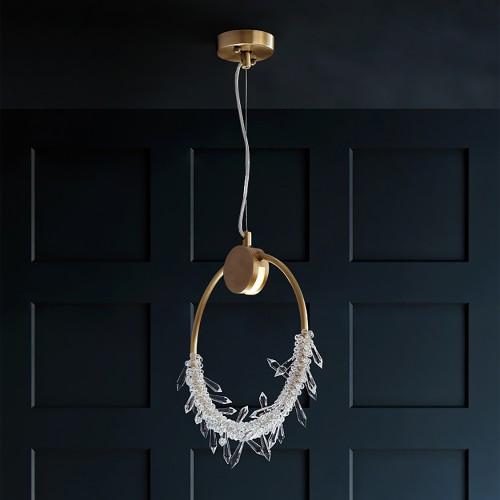 Светильник LOFT Modern Brass Pendant