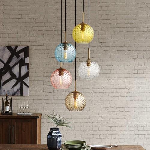 Дизайнерский светильник Modern Glass Pendant 2