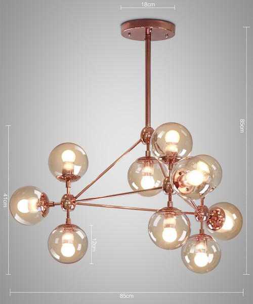 Modo Chandelier Copper