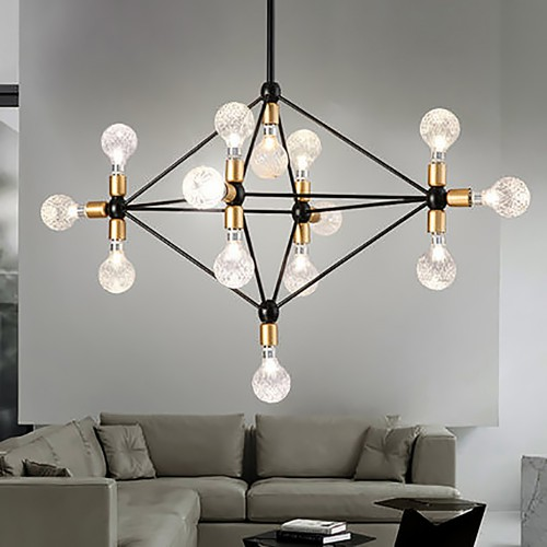 Modo Chandelier Gold New