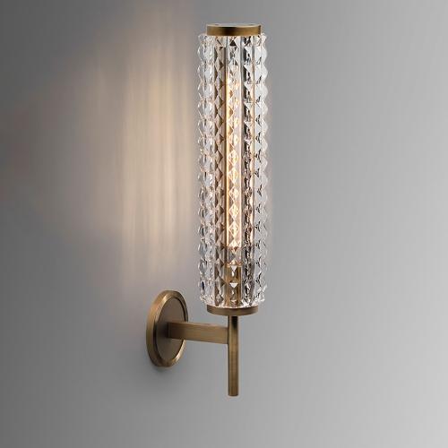 Дизайнерский бра Monk Luxury Brass Wall