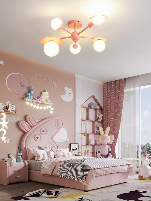 Multicolor Child Ceiling