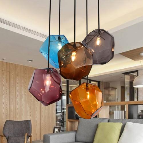 Дизайнерский светильник Multicolor Glass 2