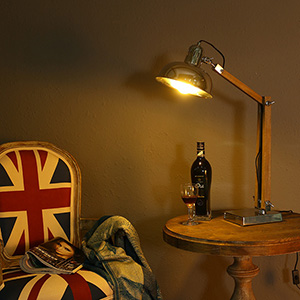 Дизайнерская настольная лампа НЛ-002