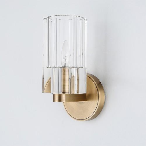 Дизайнерский бра Nef Brass wall 2