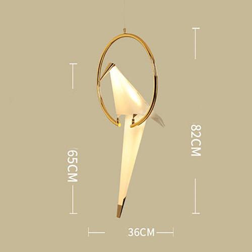 Origami Bird Pendant