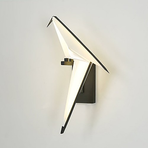 Дизайнерский бра Origami Black Wall