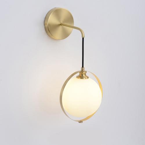 Дизайнерский бра Pioneer Brass Ball