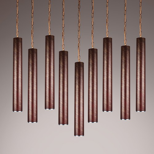 Дизайнерский светильник Pipe Design 9