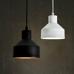Светильник LOFT Black/White pendant