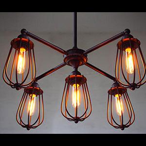 Подвесной светильник LOFT Iron Spider