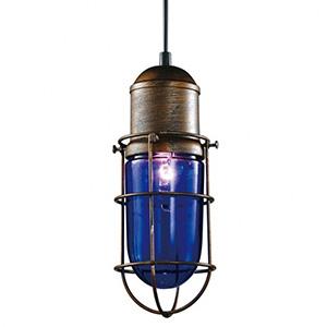 Светильник LOFT Edison Enerdge lamp Blue