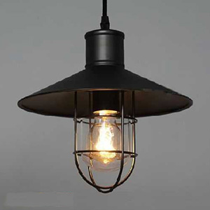 Светильник LOFT Black Net Edison Pendant