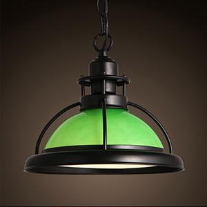 White/Green pendant