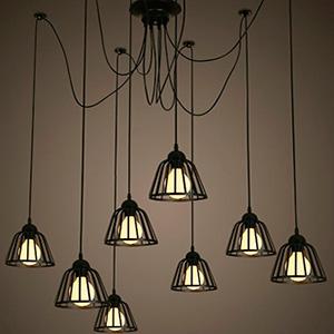 Светильник LOFT Tiann Edison