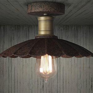 Потолочный светильник LOFT Copper Flowers