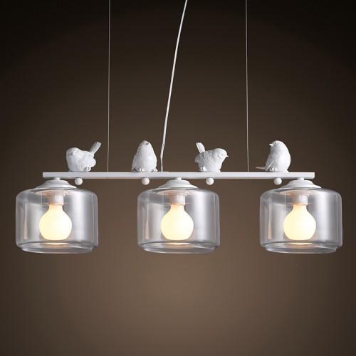 Подвесная люстра LOFT Provence Bird Line