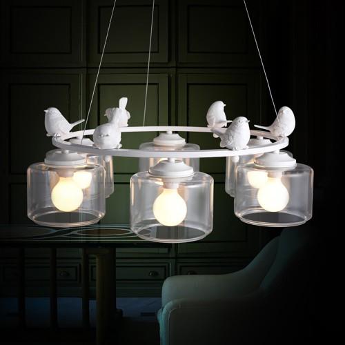 Дизайнерская люстра Provence Bird Roud