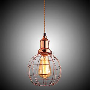 Светильник LOFT Copper Edison Pendant