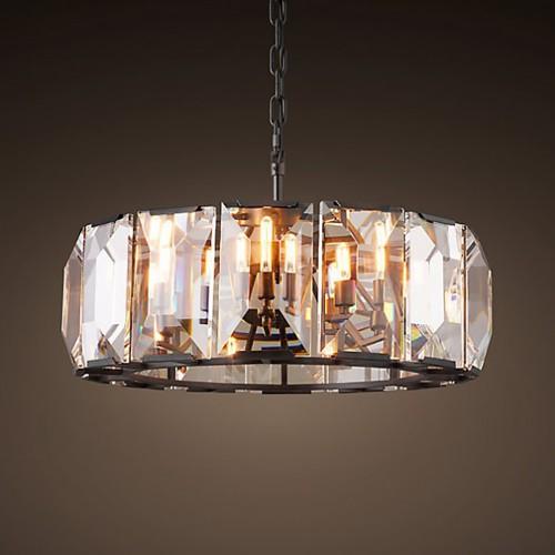 Дизайнерская люстра RH Harlow Crystal Round Chandelier