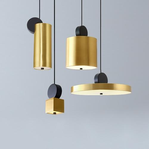 Дизайнерский светильник Rodo Gold Pendant