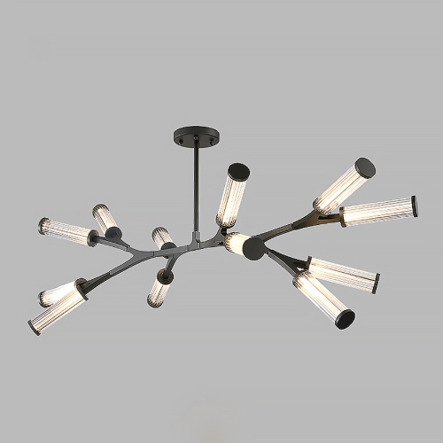 Roll and Hill Spider Chandelier