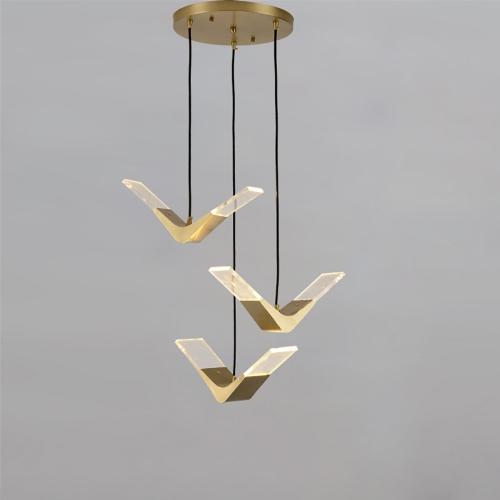 Дизайнерский светильник Same Bird Brass