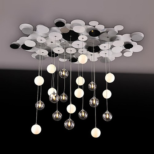 Дизайнерская люстра Silver Rain