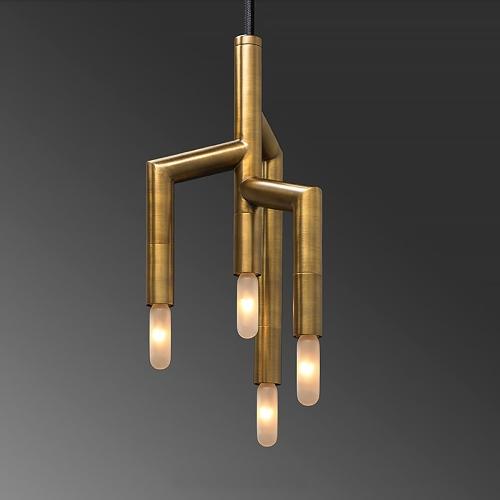 Дизайнерский светильник Stunning Brass Chandelier