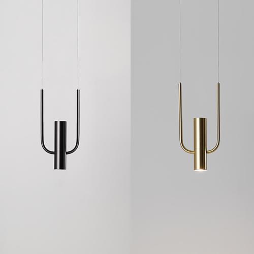 Дизайнерский светильник Study Brass 2