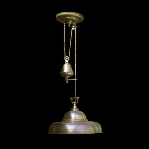 Светильник из латуни «Сфера»