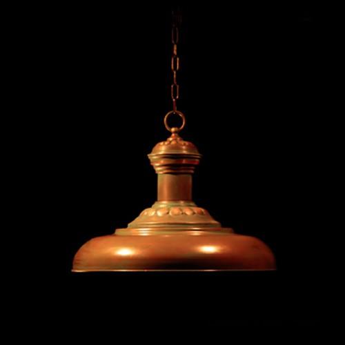 Светильник из меди «Антик»