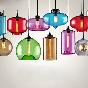 Дизайнерский светильник Multicolor Glass