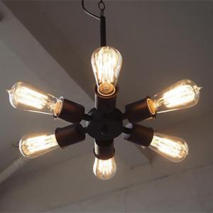 Подвесной светильник LOFT Edison pendant six