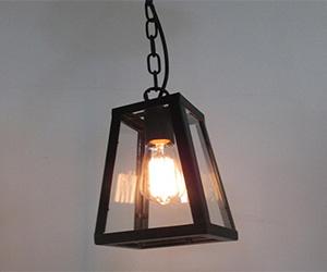 Black Edison Pendant