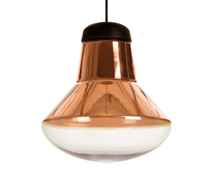Светильник LOFT Blow Light Copper Designed By Tom Dixon In 2007