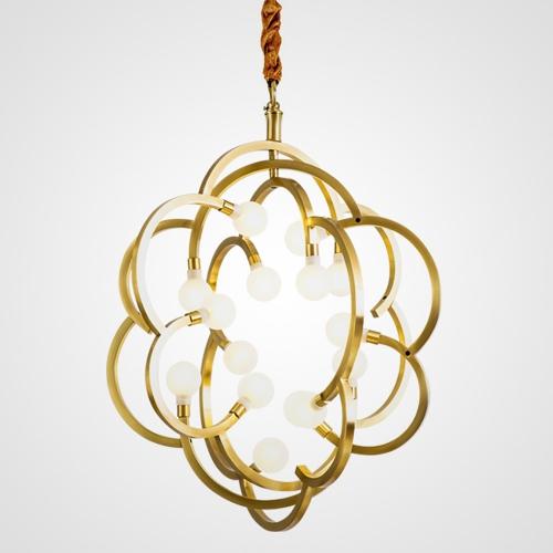 Дизайнерская люстра Team Brass Flower