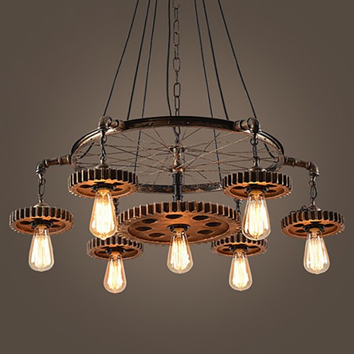 Telega Iron Chandelier