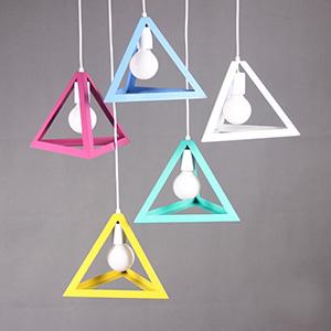 Дизайнерский светильник Multicolor Trigon