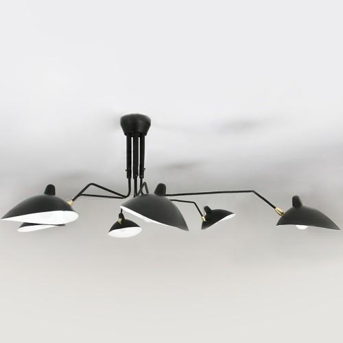 Потолочный светильник LOFT Serge Mouille Tripod Six