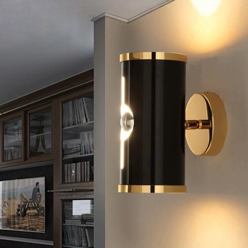 Бра LOFT Tube Design Gold