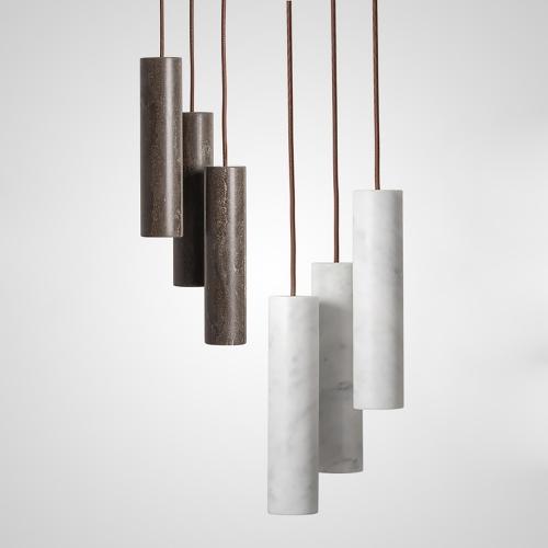 Дизайнерский светильник Tube Stone