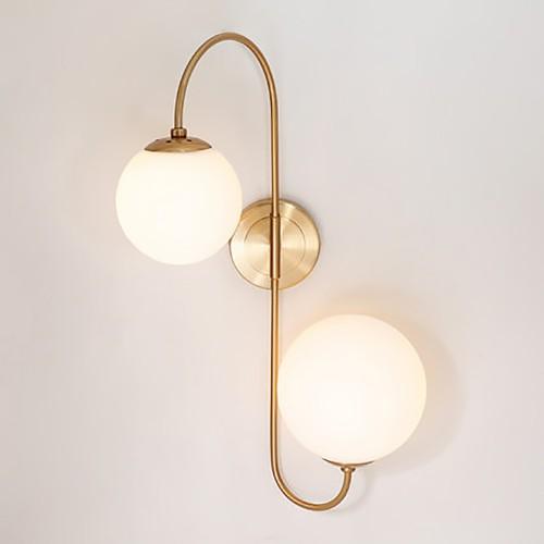 Дизайнерский бра Volume Glass Copper