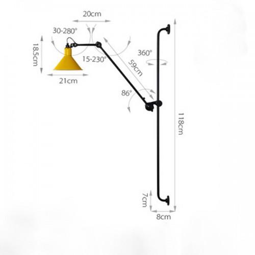 Wall lamp Floor 5
