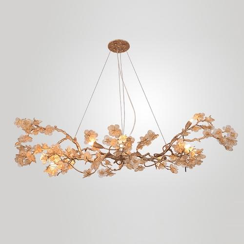 Дизайнерская люстра Whole Brass Flower